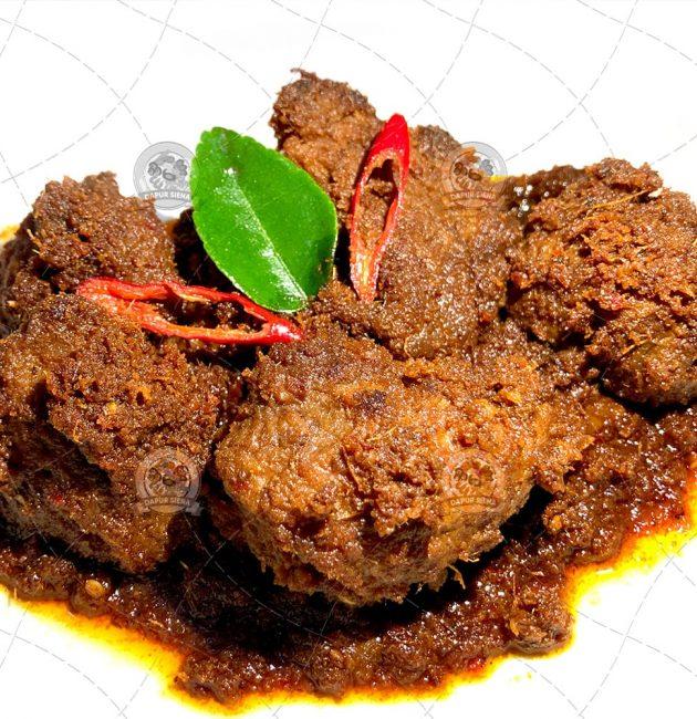 Rendang Daging Sapi Masakan Padang